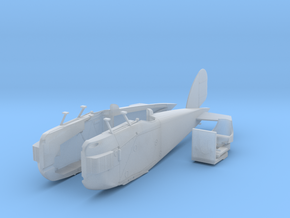 Aero A-18-fuselage in Smoothest Fine Detail Plastic