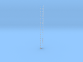 N Scale AM Radio Tower H551 2pt in Smooth Fine Detail Plastic