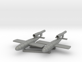 V-1 flying bomb  Fieseler Fi 103 in Gray Professional Plastic: 1:200