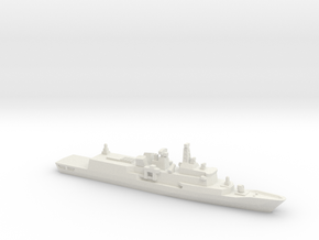 Hydra-class frigate, 1/1800 in White Natural Versatile Plastic