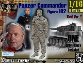 1/16 German Tanker Karl-Otto Fig102 in White Natural Versatile Plastic