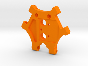 XL - Hotendhalter E3D Cyclops in Orange Processed Versatile Plastic