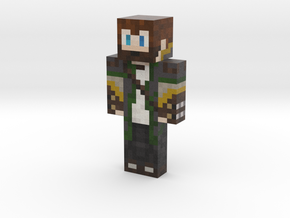 Rusher_Ranger | Minecraft toy in Natural Full Color Sandstone
