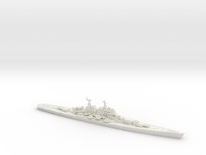 Moskva 1/2400 (Pr 66 Heavy Cruiser) in White Natural Versatile Plastic