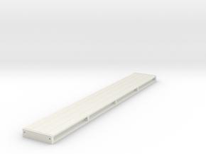 Jacking Beam 1:50 in White Natural Versatile Plastic