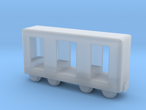 Grubenbahn Perseonenwagen V2 - TTf 1:120 in Smooth Fine Detail Plastic