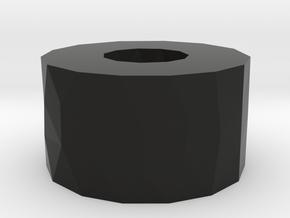 RCRP 004 Mugen MGT 7 Eco Unterlage für Lenkpfosten in Black Natural Versatile Plastic: 1:8