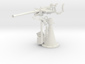 1/6 DKM 20 mm C30 single flak KIT  in White Natural Versatile Plastic