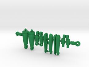 Verminus Parts in Green Processed Versatile Plastic