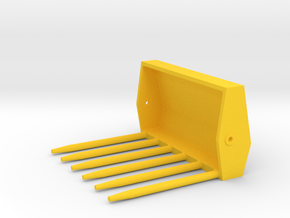 Mistgabel Kat3 in Yellow Processed Versatile Plastic