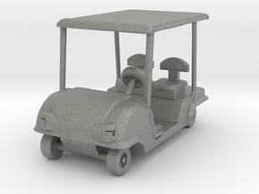 S Scale Golf Cart in Gray Professional Plastic