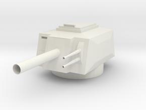 Turret heavy  in White Natural Versatile Plastic