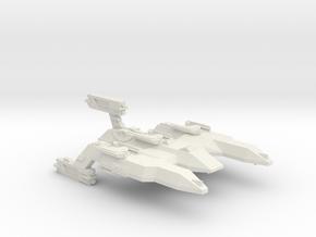 3125 Scale LDR Firecat Battle Control Ship CVN in White Natural Versatile Plastic
