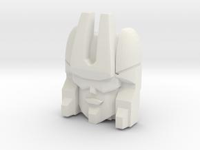 Loafer Face, Alterante (Titans Return) in White Natural Versatile Plastic
