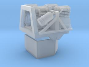 Reifendruckregelanlage Kompressoren Frontgewicht in Smooth Fine Detail Plastic