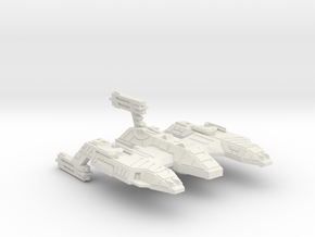 3125 Scale Lyran Siberian Lion Space Control Ship in White Natural Versatile Plastic