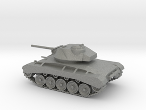 1/87 Scale M24 Tank in Gray PA12