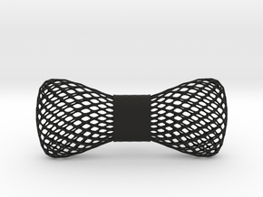 bowtie wireframe in Black Natural Versatile Plastic