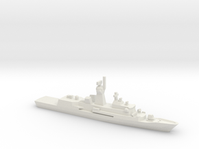 Anzac-class frigate, 1/2400 in White Natural Versatile Plastic