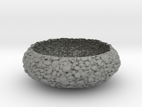 Pebbled Bowl in Gray PA12