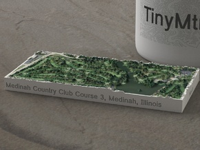 Medinah Country Club, Illinois, 1:20000 in Natural Full Color Sandstone