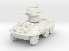 M8 Greyhound scale 1/87 in White Natural Versatile Plastic