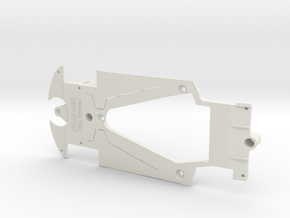 PSSA00301 Chassis for Scaleauto MB SLS GT3 in White Natural Versatile Plastic