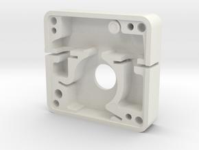 Boba Fett ESB blaster greeble - Unimax switch in White Natural Versatile Plastic
