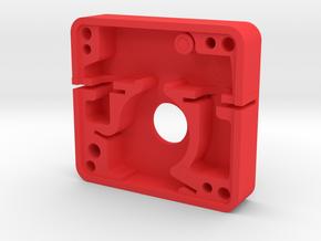 Boba Fett ESB blaster greeble - Unimax switch in Red Processed Versatile Plastic