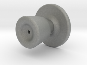 Door knob in 1:6 scale in Gray PA12