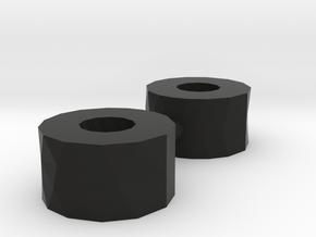 RCRP 004.1 Mugen MGT 7 Eco Unterlage für Lenkpfost in Black Natural Versatile Plastic: 1:8