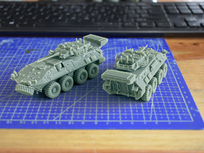 LAV III Kodiak ICV Scale: 1:72 in Smooth Fine Detail Plastic