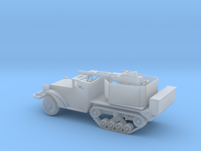 1/160 Scale M3 HalfTrack with 40mm AA Gun in Smooth Fine Detail Plastic