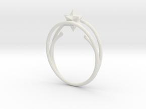 anello ico in White Natural Versatile Plastic