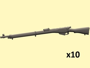 1/35 Lee Enfield Mk1 rifle in Smoothest Fine Detail Plastic
