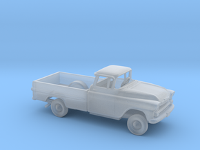 1/160 1958 Chevrolet Apache Long Bed Kit in Smooth Fine Detail Plastic