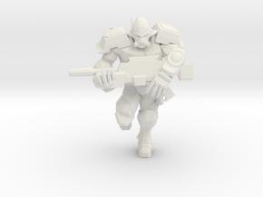 Enforcer Marine 2  in White Natural Versatile Plastic