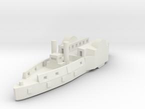1/600 USS Conestoga/Tyler in White Natural Versatile Plastic