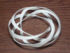 Torus2 in White Natural Versatile Plastic