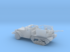1/87 Scale M15A1 HalfTrack with 37mm AA Gun in Smooth Fine Detail Plastic