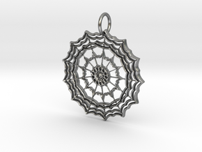 Freestyle Star Pendant in Natural Silver: Large