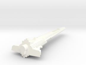1400 ktinga neck in White Processed Versatile Plastic