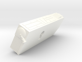1400 ktinga radiator L in White Processed Versatile Plastic
