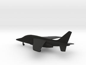 Dassault Dornier Alpha Jet E in Black Natural Versatile Plastic: 1:160 - N