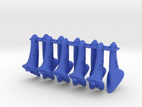 10 pcs. 26mm F2D Control Horn - v2.1 in Blue Processed Versatile Plastic