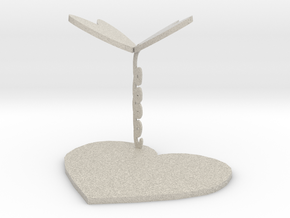 Coaster in Natural Sandstone: Small