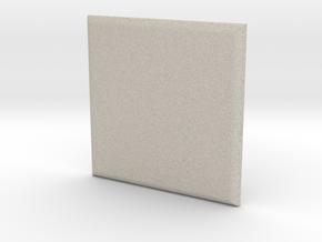 Square in Natural Sandstone