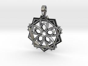 STARWAY FIVE in Antique Silver