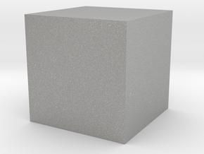 Zen Dice 1 in Aluminum