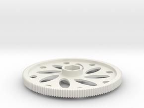 THUNDER TIGER mini Titan V1 main gear Pv0724 in White Natural Versatile Plastic